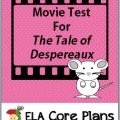 the tale of despereaux movie test cover