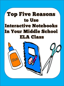 top five reasons to use interactive notebooks blog cover