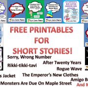 short stories free printables blog post